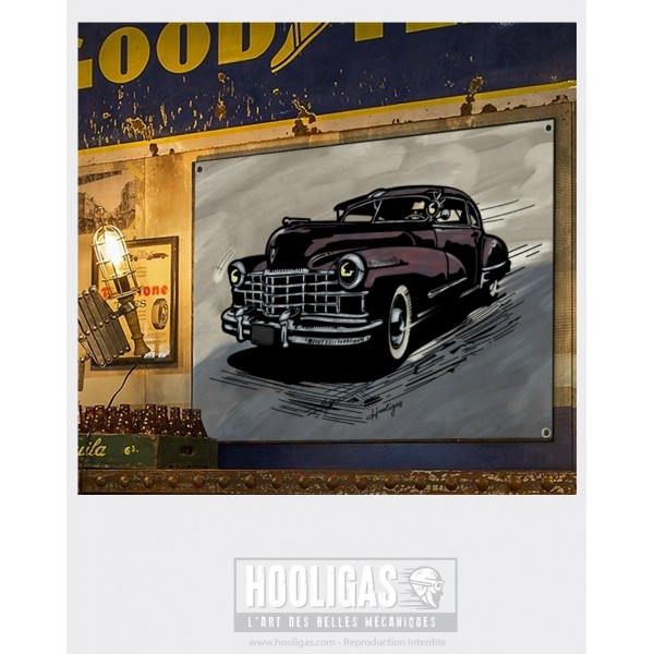Artiste peintre auto moto automobile art mecanique hooligas
